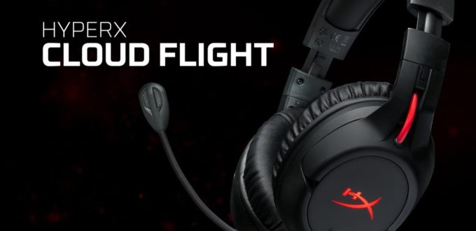 HyperX Cloud Flight Wireless Gaming Headset - Review