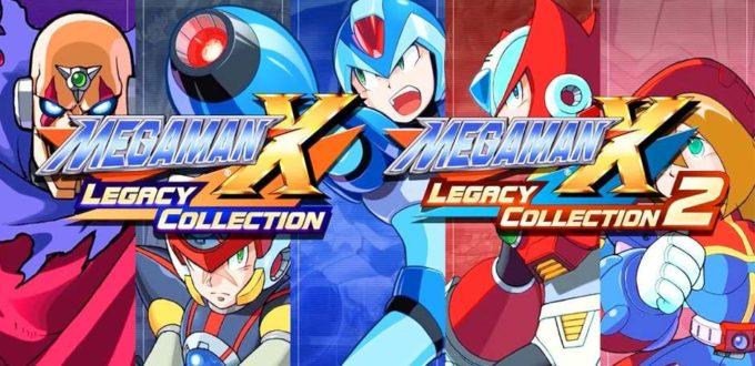 Mega Man X Legacy Collection - Timeless Gameplay,16-bit Graphics